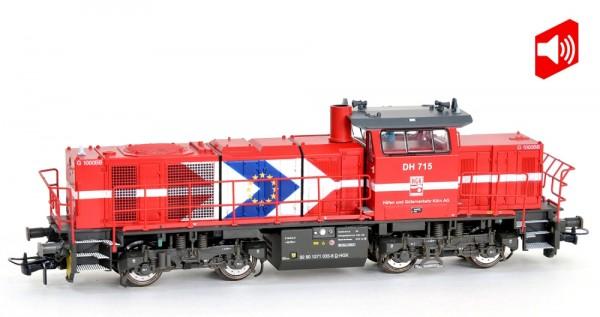 Mehano 90245 Diesellok Vossloh G1000 BB HGK, Ep.V/VI - DCC Sound (01-03/21)