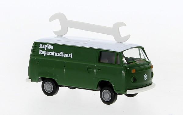 """Brekina 90921 VW T2 Kasten """"BayWa Kundendienst"""" (Neu 12/20)"""