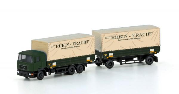 Minis LC4631 MAN F90, 3-achs Wechselpritschen-Hängerzug Rheinfracht (Neu 2020)